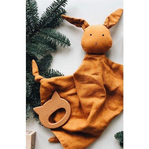 Liewood Liewood knuffeldoek Agnete | Rabbit mustard