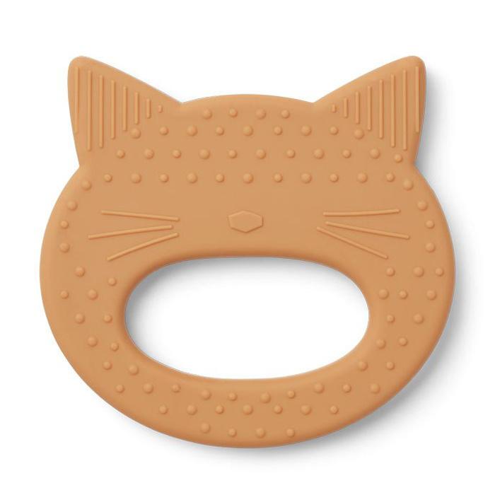 Liewood bijtring Gemma | Cat Mustard
