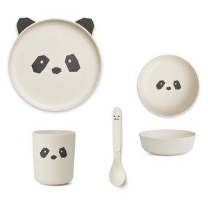 Liewood Liewood servies set | Panda Creme de la creme