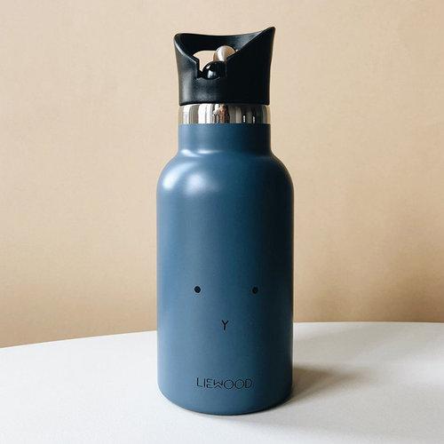 Liewood Liewood Drinkfles Anker | Rabbit Blue Wave