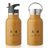 Liewood Drinkfles Anker | Cat Mustard