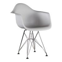 Kinderstoel Eames junior | DAR licht grijs