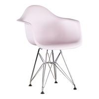 Kinderstoel Eames junior | DAR licht roze