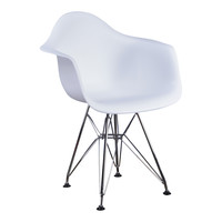 Kinderstoel Eames junior | DAR wit