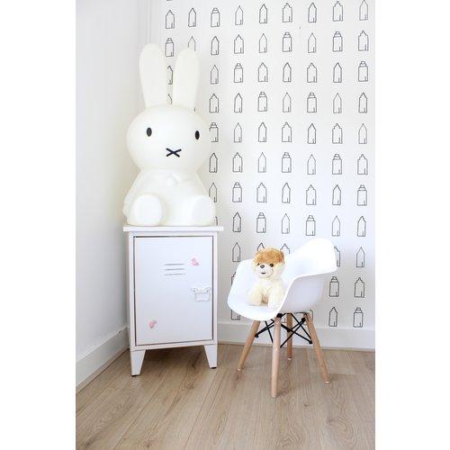 Eames kinderstoel Kinderstoel Eames junior   DAR wit