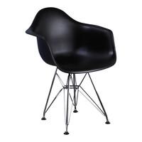 Kinderstoel Eames junior | DAR zwart