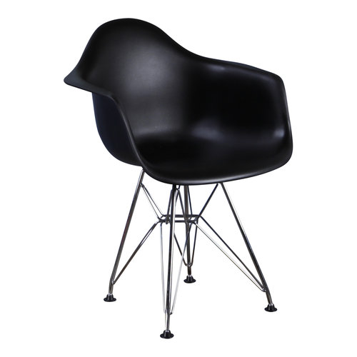 Eames kinderstoel Kinderstoel Eames junior | DAR zwart