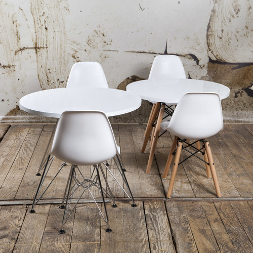 Eames kinderstoel Kinderstoel Eames junior | DAW licht grijs