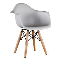 Kinderstoel Eames junior | DAW licht grijs