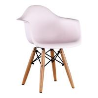 Kinderstoel Eames junior | DAW licht roze