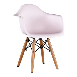 Eames kinderstoel Kinderstoel Eames junior | DAW licht roze