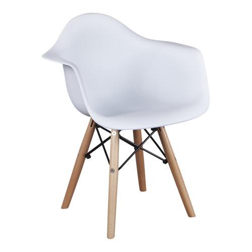 Eames kinderstoel Kinderstoel Eames junior | DAW wit