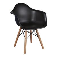 Kinderstoel Eames junior | DAW zwart