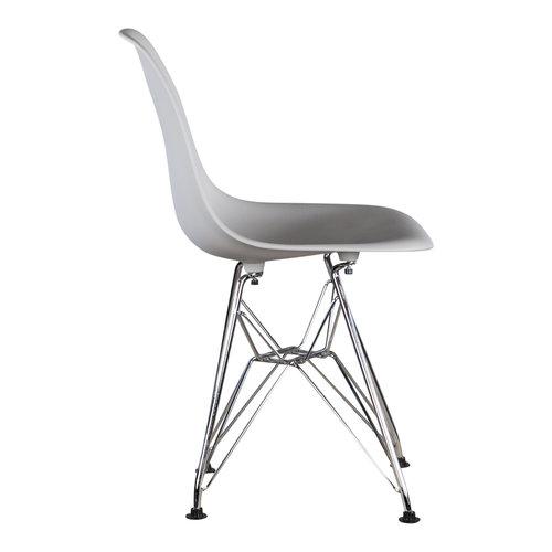 Eames kinderstoel Kinderstoel Eames junior | DSR licht grijs