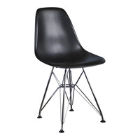 Kinderstoel Eames junior | DSR Zwart