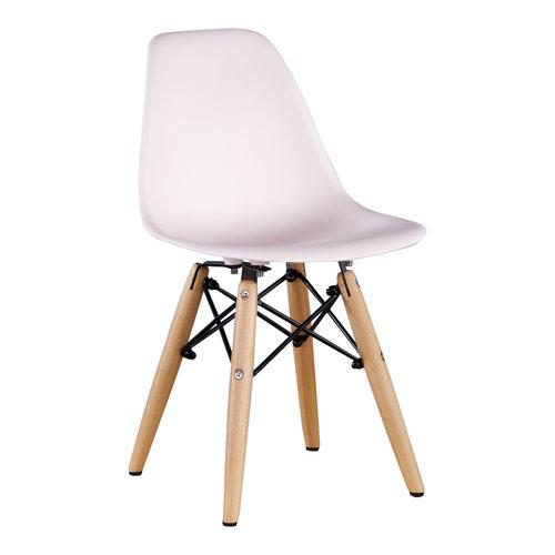 Eames kinderstoel Kinderstoel Eames junior | DSW licht roze