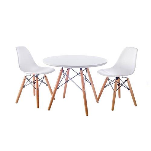 Eames kinderstoel Kinderstoel Eames junior | DSW licht grijs