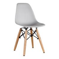 Kinderstoel Eames junior | DSW licht grijs
