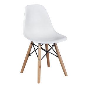 Eames kinderstoel Kinderstoel Eames junior | DSW wit