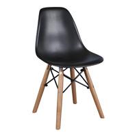 Kinderstoel Eames junior | DSW Zwart