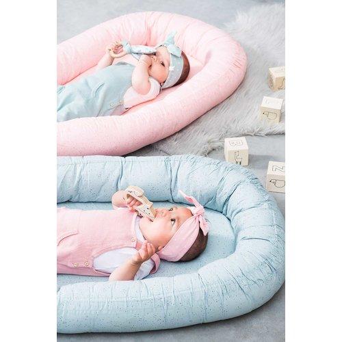 Jollein Jollein Babynest Mini dots | Blush pink
