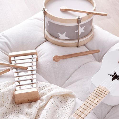Kids Concept Kids Concept speelgoed gitaar | Grijs