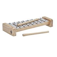 Kids Concept speelgoed xylofoon| Grijs
