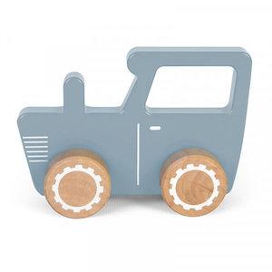 Little Dutch Little Dutch | Houten tractor blauw