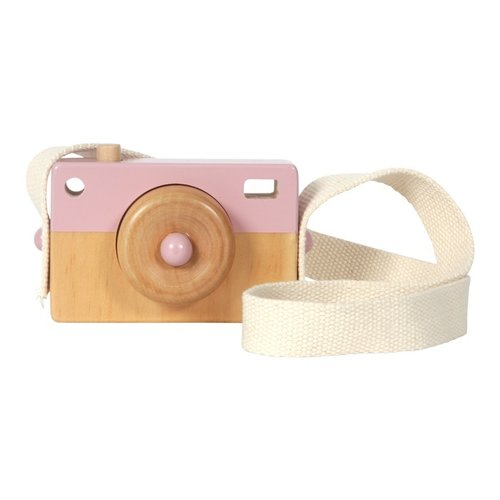 Little Dutch Little Dutch | Houten camera roze