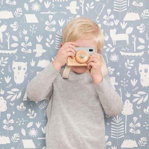 Little Dutch Little Dutch | Houten camera roze