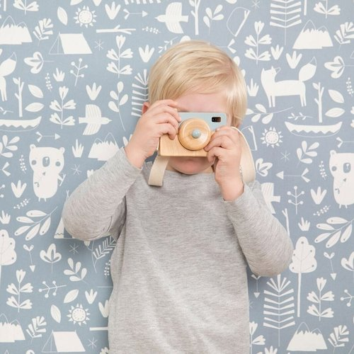 Little Dutch Little Dutch | Houten camera blauw