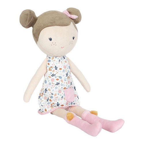 Little Dutch Little Dutch | Knuffelpop Rosa 50 cm