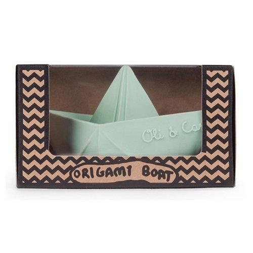 Oli & Carol Oli & Carol badspeeltje origamibootje | Mint