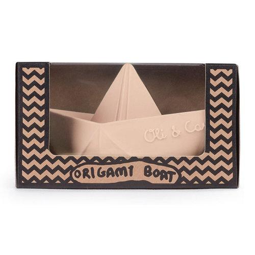 Oli & Carol Oli & Carol badspeeltje origamibootje | Nude