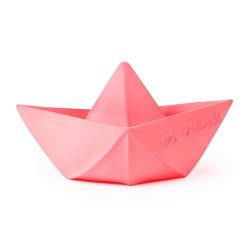 Oli & Carol Oli & Carol badspeeltje origamibootje | Roze