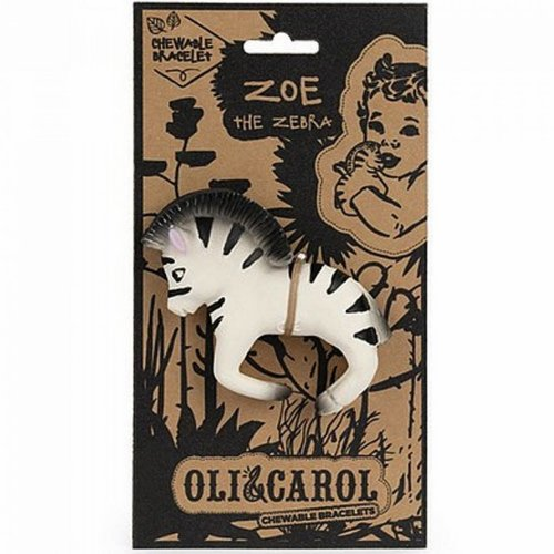 Oli & Carol Oli & Carol bijt- & badarmband | Zebra