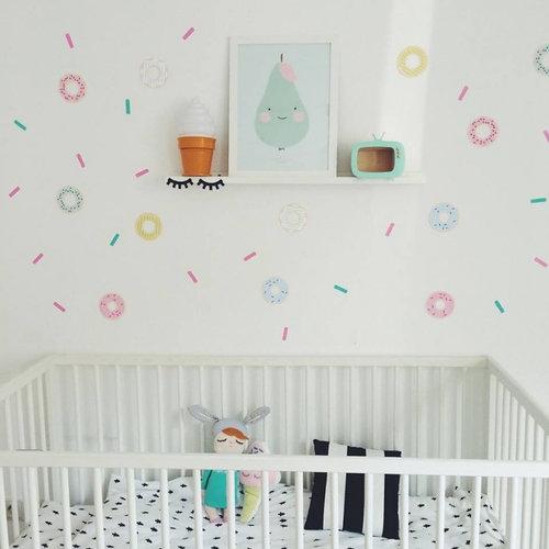 Poli & Oli Poli & Oli Muurstickers | Confetti Sprinkles