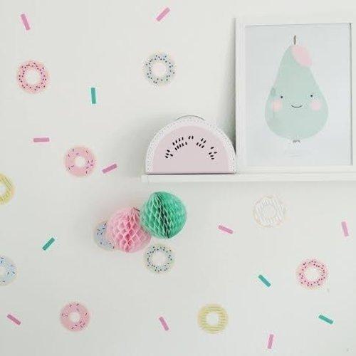 Poli & Oli Poli & Oli Muurstickers | Donut