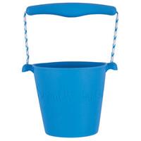 Scrunch bucket emmertje | Blauw