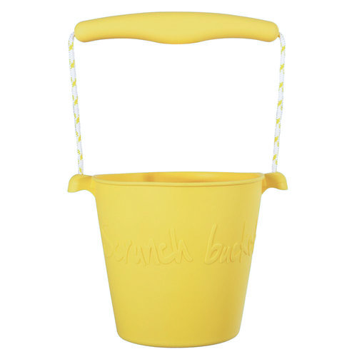 Scrunch Scrunch bucket emmertje | Buttercup yellow