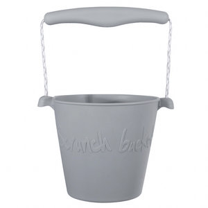 Scrunch Scrunch bucket emmertje | Misty grey