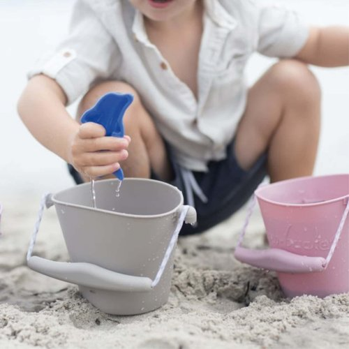 Scrunch Scrunch bucket emmertje | Misty grey