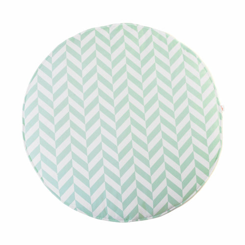 Wigiwama Speelkleed chevron | Mint groen