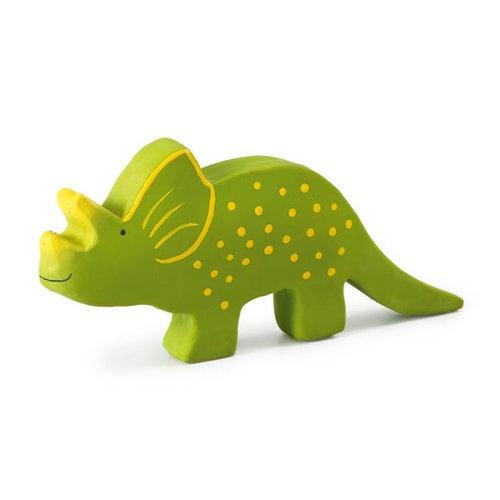Tikiri Tikiri Bijt- en Badspeelgoed Dino | Triceratops