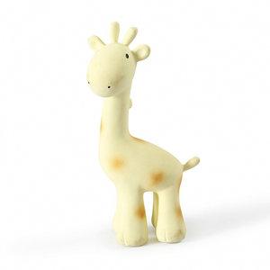 Tikiri Tikiri Bijt- en badspeelgoed Rammelaar | Giraffe