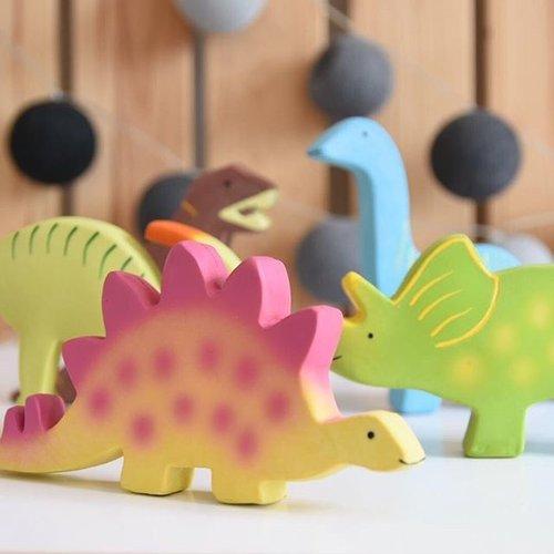 Tikiri Tikiri Bijt- en Badspeelgoed Dino   Triceratops