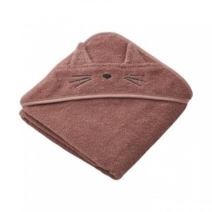 Liewood Liewood badcape Albert | Cat Dark Rose