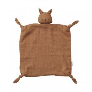 Liewood Liewood knuffeldoek Agnete | Cat terracotta