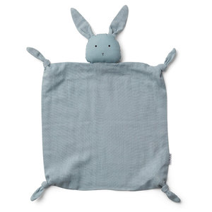 Liewood Liewood knuffeldoek Agnete | Rabbit Sea Blue