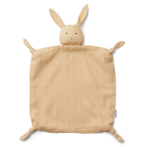 Liewood Liewood knuffeldoek Agnete | Rabbit Smoothie Yellow